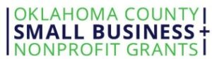 Oklahoma County Small Business Nonprofit Grant